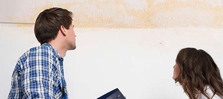 vochtproblemen in huis behandelen